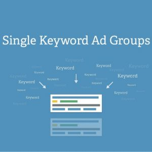 single keyword adgroup ads